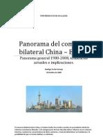 Anteproyecto tesis Comercio bilateral China - EE.UU. 1980-2008