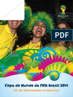 Kit FIFA - Copa Do Munco 2014