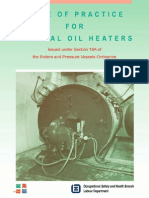 Code of Practice ForThermal Oil Heaters