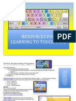 Free Touch Typing Resources Grades