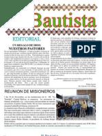 EL BAUTISTA AÑO 12 EDICIÓN Nº 7