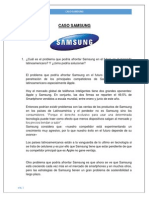 Caso Samsung Actual