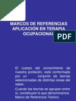 Marcos de Referencias Aplicación en Terapia Ocupacional
