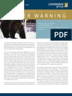 2009 Winter Warning Volume 12 Issue 1