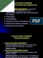 3. Tanatología forense