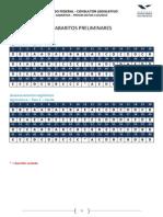 Gabarito Preliminar Edital 01 - Consultor