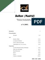 Balkan (Madrid) 6 (2005)