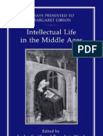 Intellectual Life in the Middle Ages