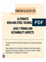 04Alternate IronSteelTechnologies MN Dastur