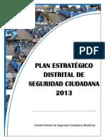 5300-8310-Plan Estrategico Distrital Seg Ciudadana 2013