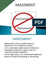 Harassment 1