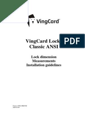 Vingcard Contact Card