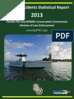 2013 Florida Boating Statistics