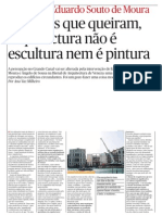 Architect Souto Moura interview