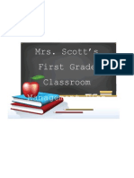 Mrs. Scott's Classroom Management Plan