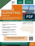 MSc in Marine Survey