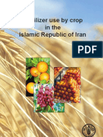 Fertilizer Use by Crop in the Islamic Republic of Iran