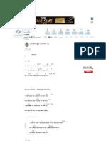 UN AMIGO COMO TU Keyboard - La Pandilla _ E-Chords