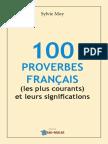 100 Proverbes Francais