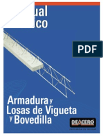 Armadura Vigueta y Bovedilla Manual Técnico DEACERO