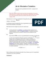 Postulados de La Mecánica Cuántic1