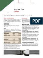Factsheet Reiseschutz Plus En