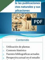 Apuntes de Historia Productos Naturales