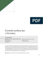 Bekic - Keramika Praskog Tipa u Hrvatskoj