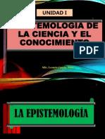 Unidad I Epistemología y Ciencia