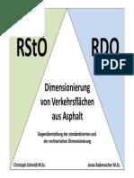 02 Dimensionierung Von Asphaltflaechen RDO-RStO SCHMIDT