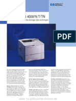 Datenblatt Hp Laserjet 4000
