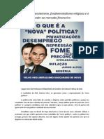 Marina Silva, o Fundamentalismo Religioso e todo Poder ao Mercado Financeiro