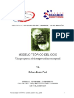 Modelo Teórico Del Ocio