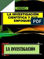 Unidad I. La Investigación y Su Enfoque