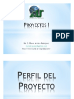 Perfil de Proyectos Semana 04-09-2014