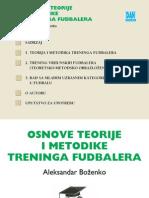 Osnove Teorije i Metodike Treninga Fudbalera Aleksandar Bozenko