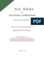 Vulgatam-Clementinam