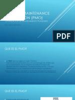 Planned Maintenance Optimization (PMO)