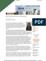 2012 October - ASCE Richmond Newsletter