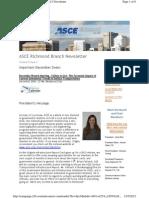 2012 December - ASCE Richmond Newsletter
