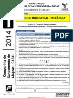 Prova - Tecnico Industrial - Mecanica - Tipo 1