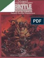 TSR 1019 - Battlesystem Boxed Set