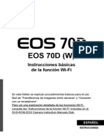 EOS 70D Wi-Fi Basic Instruction Manual ES