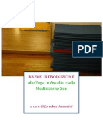 Breve Introduzione allo Yoga in Ascolto e alla Meditazione Zen