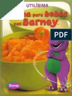 Cocina Para Bebes Con Barney