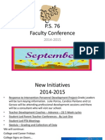 faculty conference