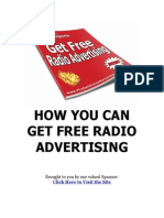 Get Free Radio Advertising Rebranded
