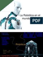 La Robótica en El Mundo Actual