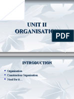 UNIT II organisation