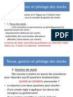 Tenues Des Stocks